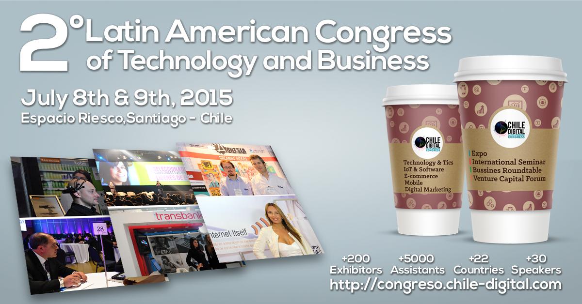 Facebook Image II Chile Digital Congress 2015