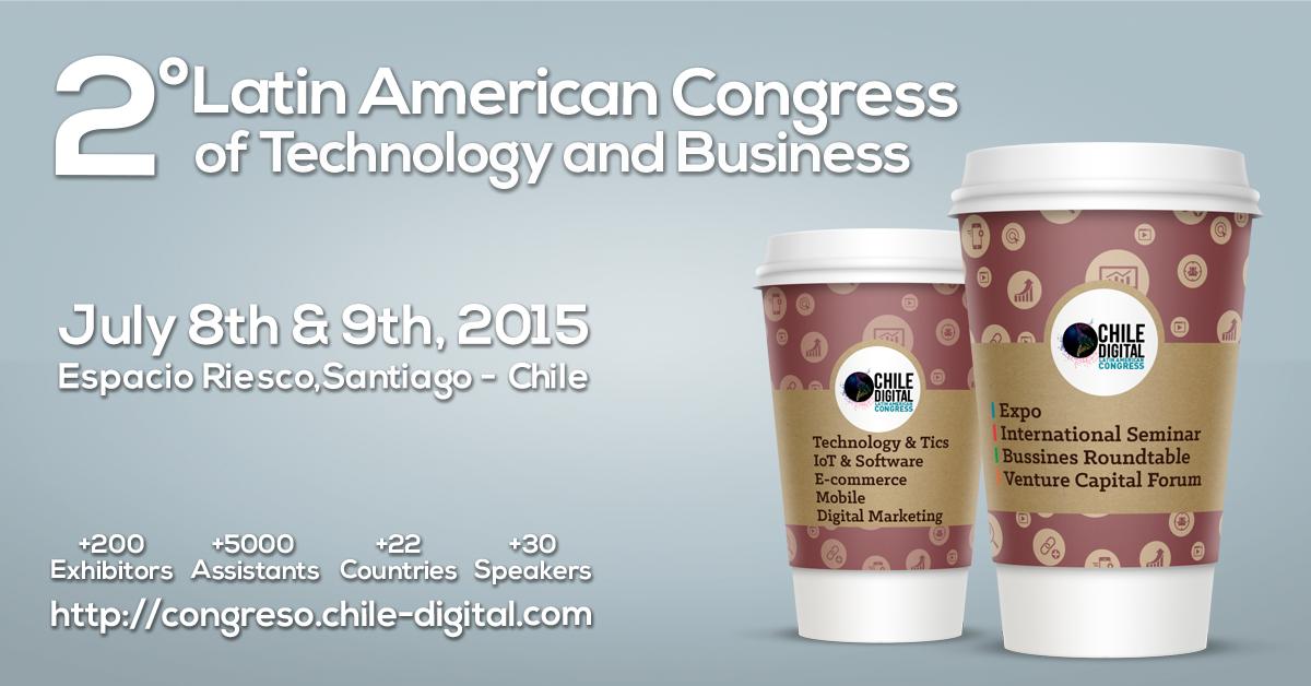 Facebook Image I Chile Digital Congress 2015